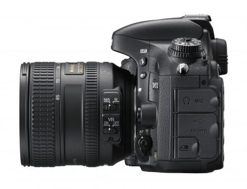 Nikon D610 bok