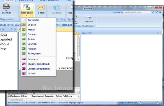Jako skaner biurowy udostępnia on także inne udogodnienia, między innymi automatyczne rozpoznawanie wielkości dokumentu czy też skanowanie wizytówek z rozpoznawaniem tekstu. Aplikacja CardMinder służy z kolei do tworzenia na ich podstawie baz danych. Brak jednak obsługi polskiego języka.