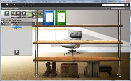 Magic Desktop i Rack2-Filer Smart to aplikacje, które umożliwiają archiwizowanie dokumentów w wizualnie atrakcyjny i intuicyjny sposób. Magic Desktop zbiera dane z różnych źródeł - zdjęcia, korespondencję, grafiki, dokumenty, a wszystkie te pliki trafiają na wirtualny pulpit, gdzie można je porządkować. Wycinki z Magic Desktop mogą być zapisywane w teczkach w programie Rack2-Filer Smart.