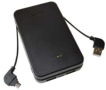 Power Bank 10000mAh (in built cable) HR  0