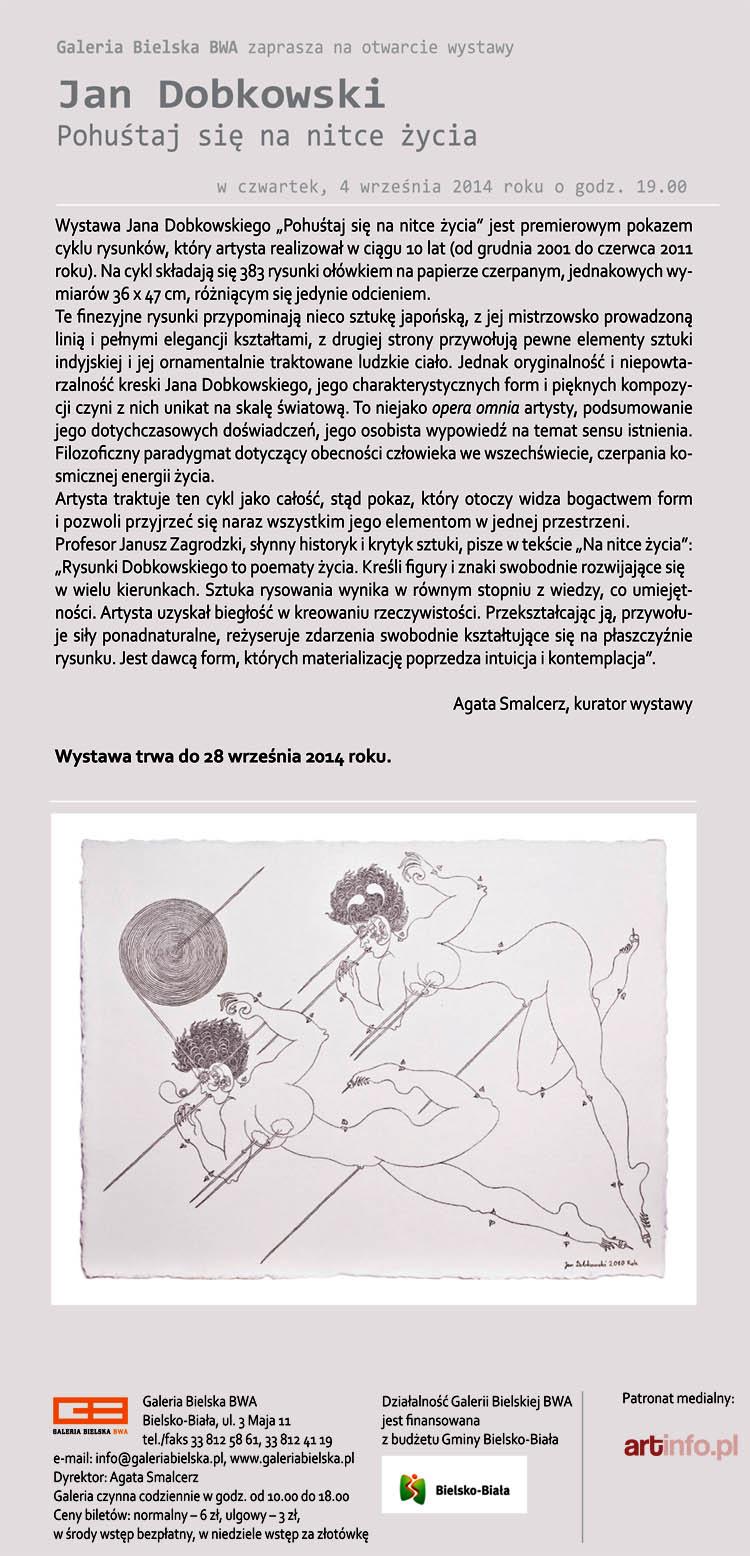BWA Wystawa Jana Dobkowskiego