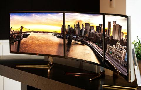 Monitor LG panoramiczny