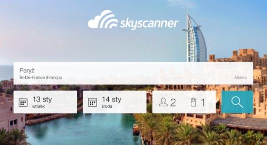 Skyscanner Hotele