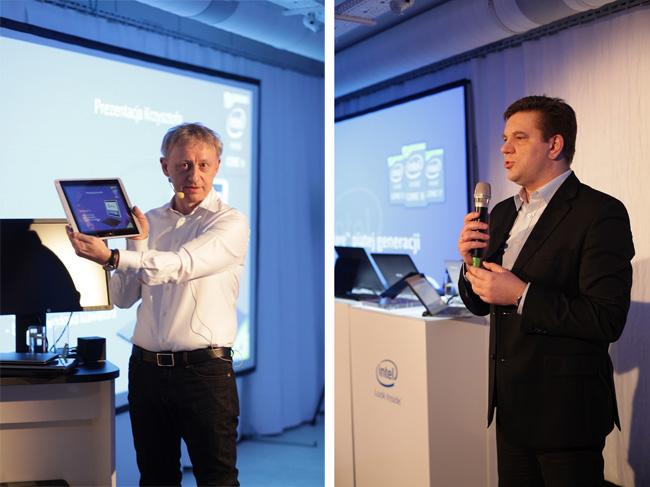 Krzysztof Janicki i Krzysztof Jonak, Intel