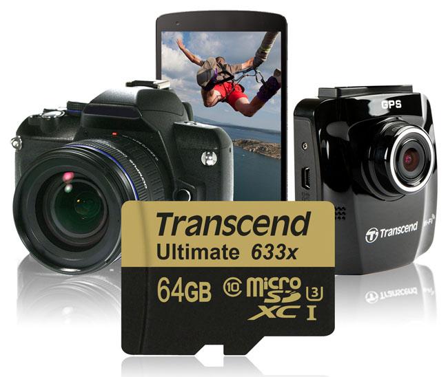 RANSCEND micro-SD UHS-I U3