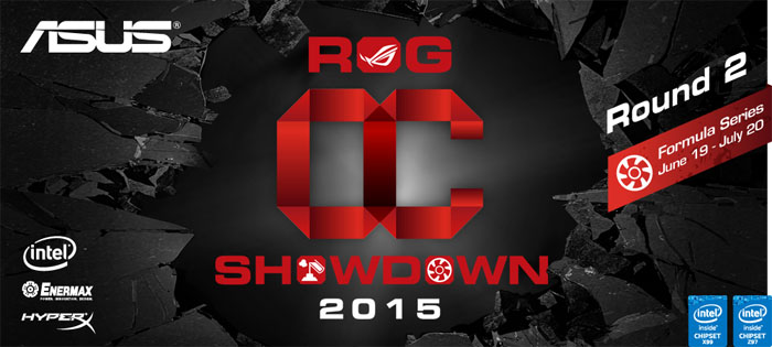ASUS ROG OC Showdown 2015 Formula