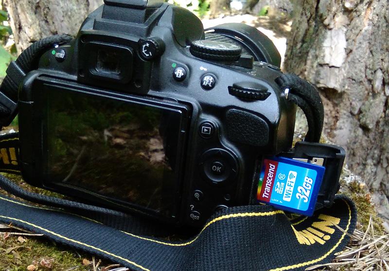 Transcend WIFi i Nikon