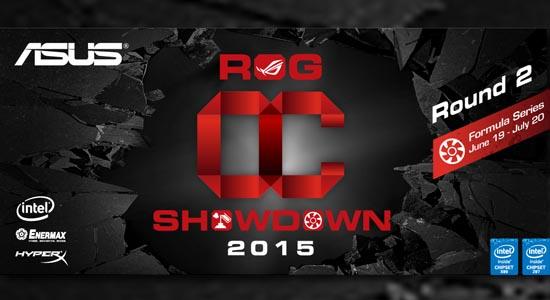 ASUS ROG OC Showdown 2015 Formula