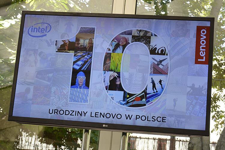 10 lat Lenovo w Polsce