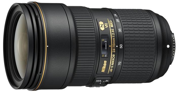 Nikkor AFS 24-70 mm f/2,8E ED VR