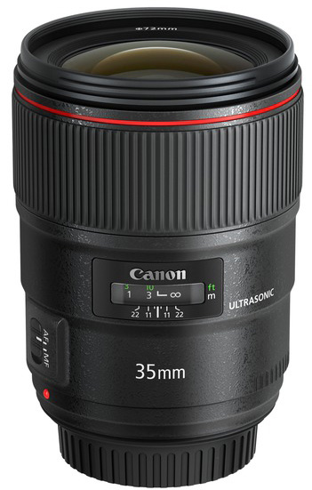 Canon EF 35 mm f1,4LIIUSM