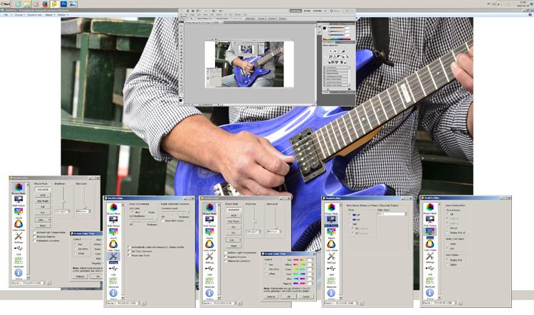 NEC Multisync PA322UHD Multiprofiler