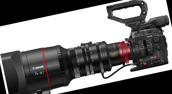 Kamera 8K systemu Cinema