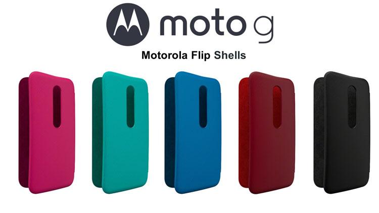 MOTO G Flip Shells PL