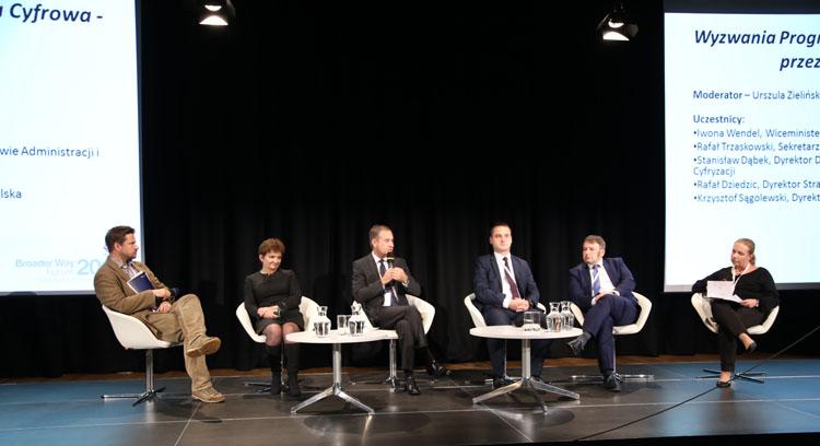 Rafał Trzaskowski, Iwona Wendel, Rafał Dziedzic, Stanisław Dąbek, Krzysztof Sągolewski