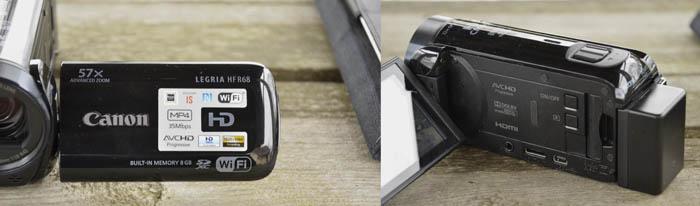 Canon Legria HF R68 obudowa