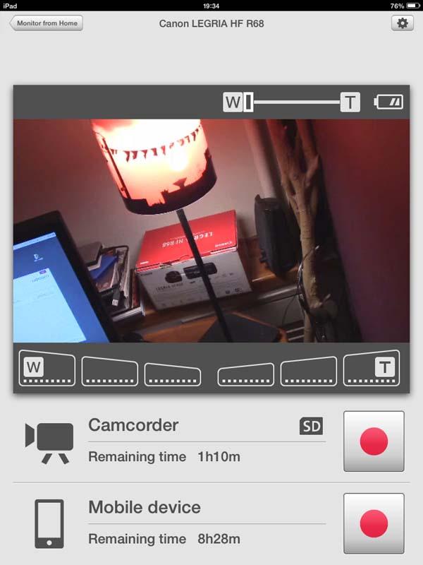 Canon Legria mobile